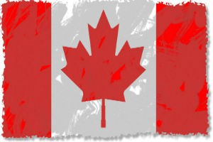 grunge-canadian-flag